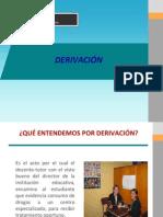 Derivacion Toe 2011