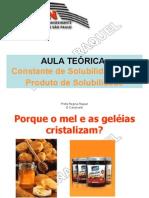 EQUILÍBRIO E SOLUBILIDADE-2011