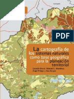 La cartografía de los sistemas naturales como base geográfica para la planeación territorial