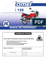 CG 150 Serie 2 - Manual Del rio