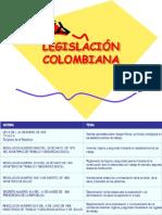 RESUMEN LEGISLACIÓN COLOMBIANA 2008
