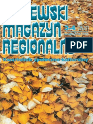 Kociewski Magazyn Regionalny Nr 26 27