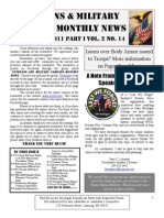 Veterans & Military Families Monthly News-September 2011 Part I