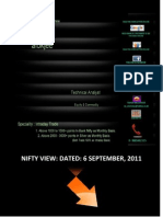 Nifty View 6 Sep 2011