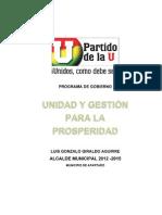 Programa Gobierno