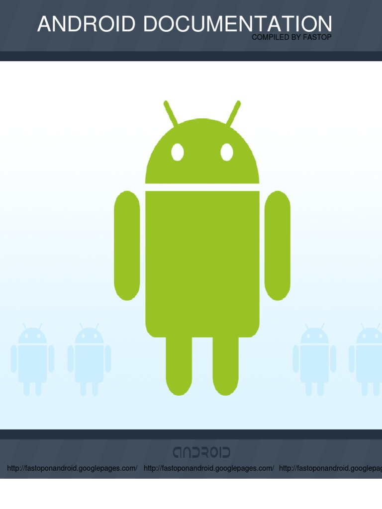 Documentation Android | Eclipse (Software) | Android (Operating System)