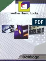 Catálogo de productos Perfiles Santa Lucia S.A. de C.V.