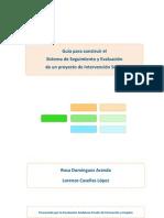 Guía de evaluación y seguimiento de proyectos sociales
