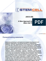 ISCO.OB - A New Approach to Developing  Stem Cell Therapy