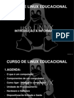 Curso de Linux Educacional Introducao a 1
