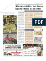 Dia Siete Edicion 212 Nota Libro Guillermo Bravo