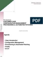 Customer Case Oracle DBA Dag 22-6-2010