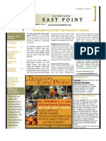 Downtown East Point Newsletter Sept. 2011