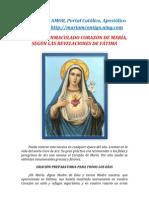 NOVENA AL INMACULADO CORAZÓN DE MARÍA | ALIANZA DE AMOR
