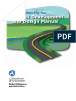 Project Development and Design Manual