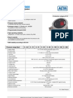 Broshure Transmisor de Presion AFM