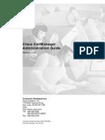 Configuring Cisco Call Manager