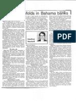 CIA/Mafia Bank Scandal in Bahamas