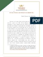 Critica Literaria - Da Disciplina Ao Des Cont Role
