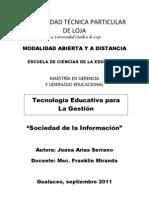 Artículo Sociedad de la Información