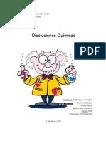 Informe Quimica Disoluciones
