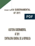 Auditoria Gubernamental Ley de Control NAGU