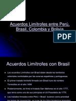 Acuerdos Limítrofes entre Perú, Brasil, Colombia