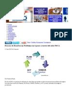 Proceso de Resolver un Problema en 6 pasos a través del ciclo PDCA - SpanishPMO