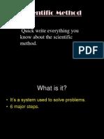 8thScientific Method