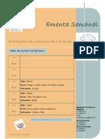 Ementa 12-09-2011 a 16-09-2011