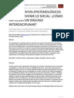 Contrapuntos Epistemologicos Dialogo Interdisciplinar