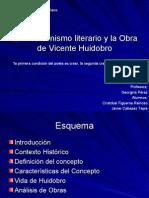 El Creacionismo Literario y La Obra de Vicente