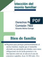 Proteccion Patrimonio Familiar