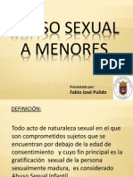 Abusosexual de menores
