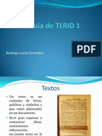 3º Guía de TLRID 1