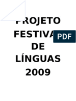 FESTIVAL DE LÍNGUAS 2009