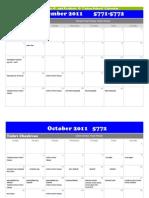 Cohen School Calendar-2011-2012 5772