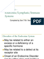 Endocrine Lymphatic and Immune Disorders