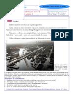 Geografia - 1º ano - Vol. 3 - Desafio da pag. 9