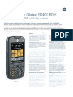 ES400 Spec Sheet 8 11