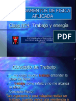 Clase4 Trabajo y Energia