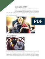Fullmetal Alchemist 3D