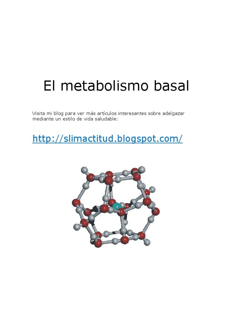 Cómo Metabolismo en 15 minutos y aún se vea mejor