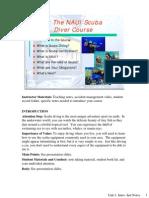 The NAUI Scuba Diver Course
