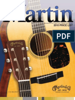 Martin Price List