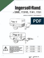 Manual Uso Compresor Ingersoll Rand 7_26E 7_31E 7_41 7_51