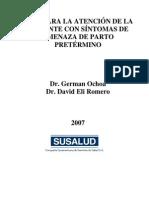 Amenaza Parto Prematuro 2007