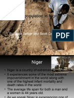 Overpopulation in Niger