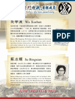 Members of Tiananmen Mothers who have passed away