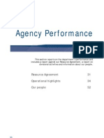 Agency Performance